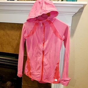 ALO Full Zip Hoodie Yoga Workout Spandex Jacket